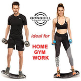 Balance Board - Premium Quality Fit Board + Instructions - Workout Vital