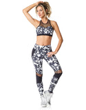 SPORTS BRA 207 ETHNIC PRINTED