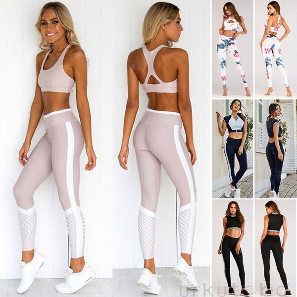 Women's Yoga Set Sports Bra & Leggings