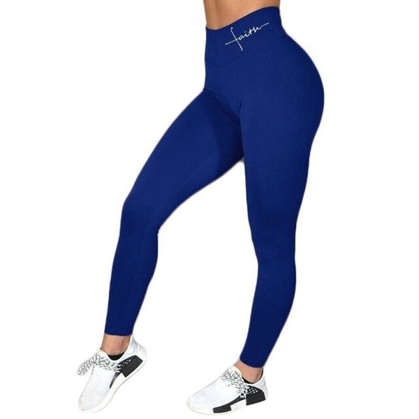Faith Wide Waistband Fitness Leggings