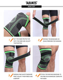 1 PCS Knee Support Sports Knee Pad Breathable Bandage Knee Brace