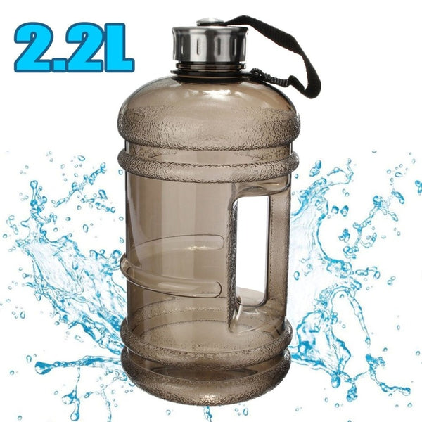 2.2L Big Large Water Bottle - Workout Vital