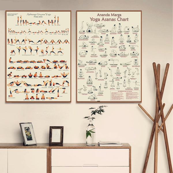 Yoga Ashtanga Primary Series Posters and Prints