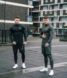 Men's T-Shirt Men's Long Sleeve Jogger Gyms Workout T-Shirt