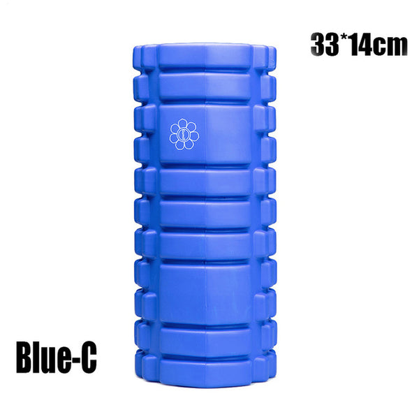 Yoga Foam Pilate Fitness Roller EVA Sports Column Train Gym Physical Massage Grid Floating Trigger Point Therapy Exercise block - Workout Vital