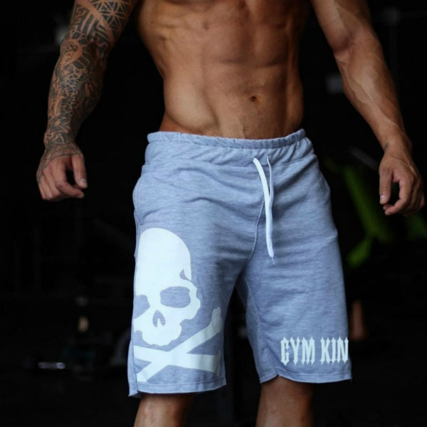 Mens Shorts Durable Sweatpants Fitness Workout Cotton Shorts