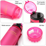 Sport Water Bottles 500/650ML BPA Free