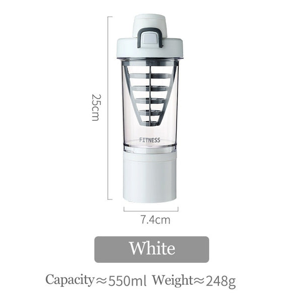 550ML Sports Shaker Bottle - Workout Vital