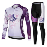 Women Cycling Jersey Clothes Female Long Sleeves