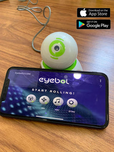 Eyebol | Robotic Gaming Ball | Connecting App | Devices Controlling