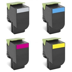 LEXMARK Black Toner CX510de - 4 Colour Option