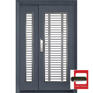 Single Layer 3'x 7'(WxH) SS217-NR Safety Door