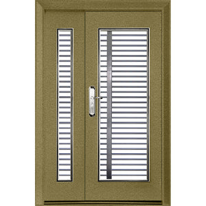 Single Layer 3'x 7'(WxH) SS218-NR Safety Door