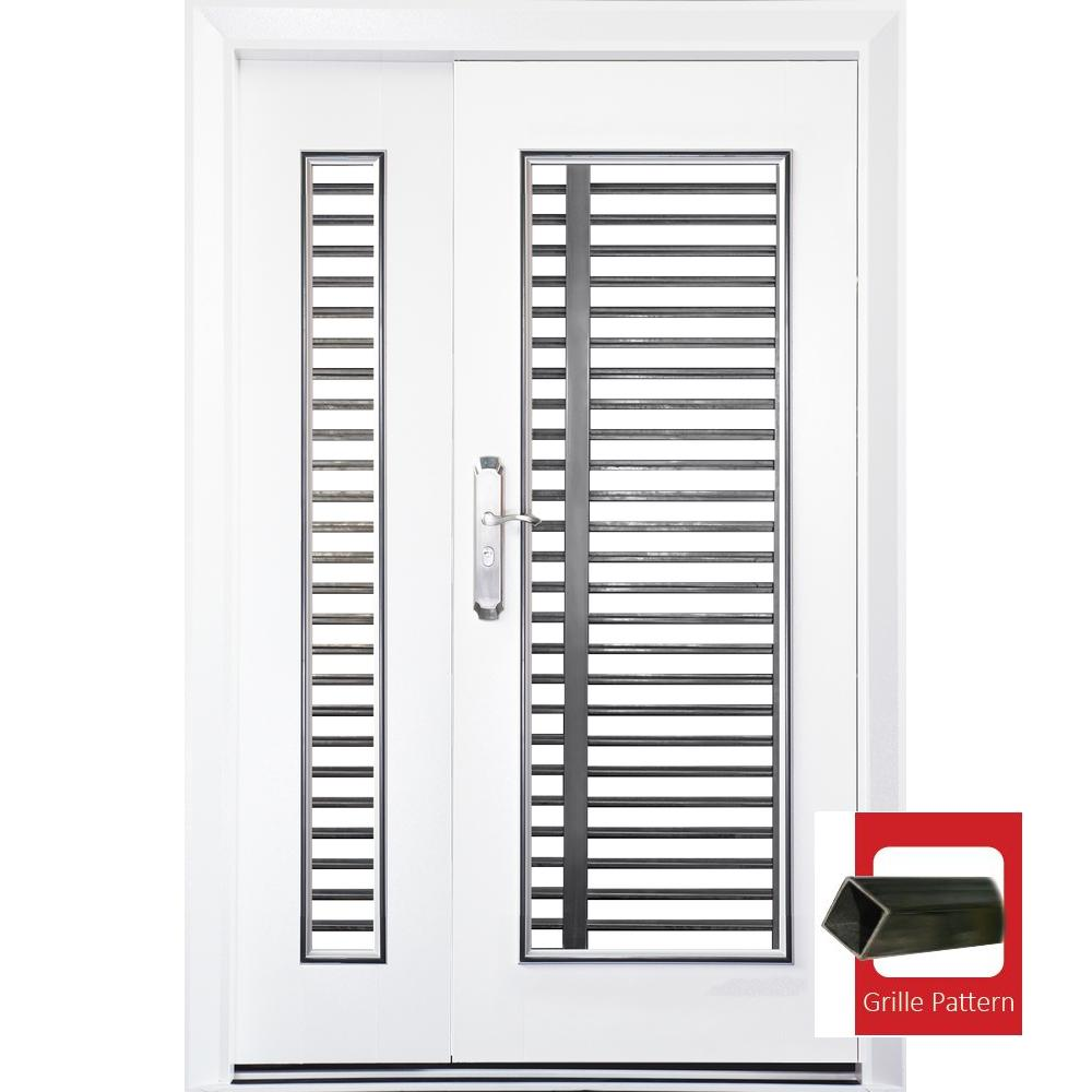 Single Layer 3'x 7'(WxH) SS218-NS Safety Door