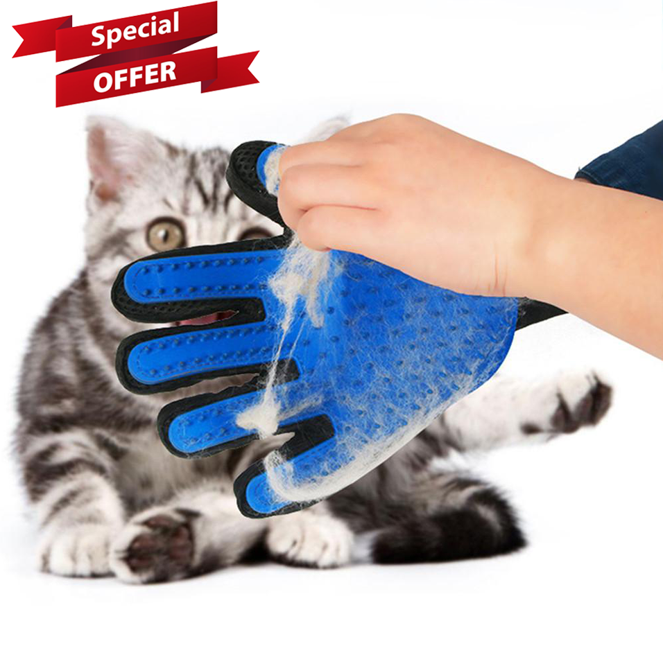 Dog Brush Glove (2020 Upgraded)