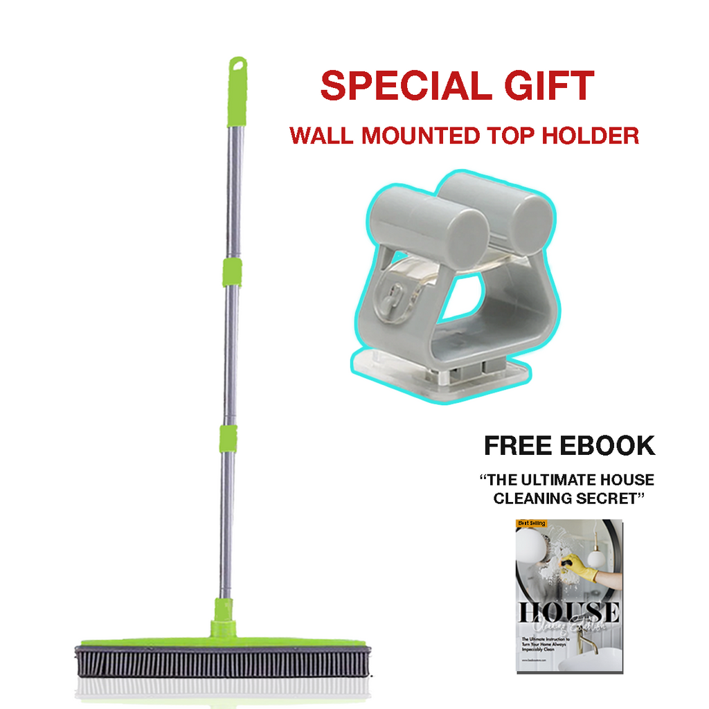 BeaBos™ Broom (2021 Handle Upgraded) *Special Deal* (Top Holder)