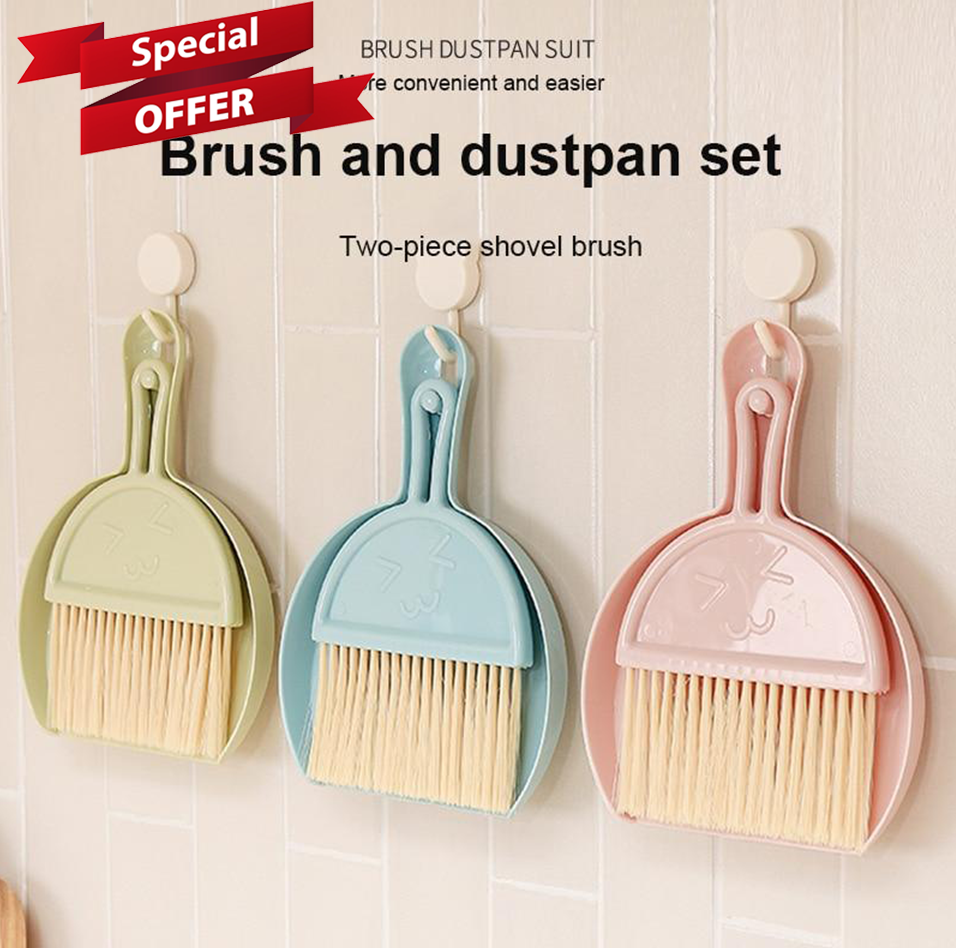 BeaBos™ Mini Broom & Dustpan