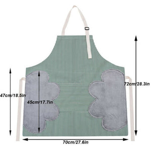 Erasable Hand Waterproof Kitchen Apron - BeaBos