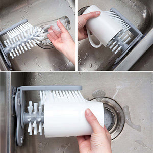 Sink Glass Cleaner Brush - BeaBos