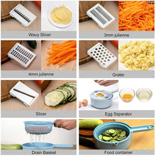 Load image into Gallery viewer, Mandoline Slicer Cutter Chopper and Grater - BeaBos