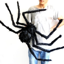 Load image into Gallery viewer, Halloween Black Spider