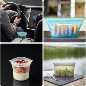 Leakproof Containers Stand Up - Completely Plastic-Free - BeaBos