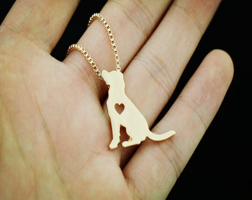 Cute Labrador Retriever Pendant Necklaces
