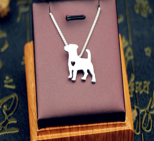 Cute Jack Russell Terrier Pendant Necklaces