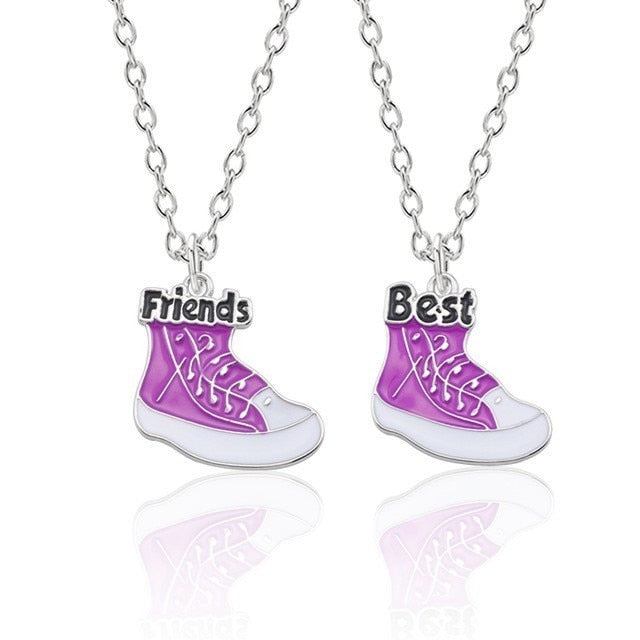 Trendy Best Friends Necklace