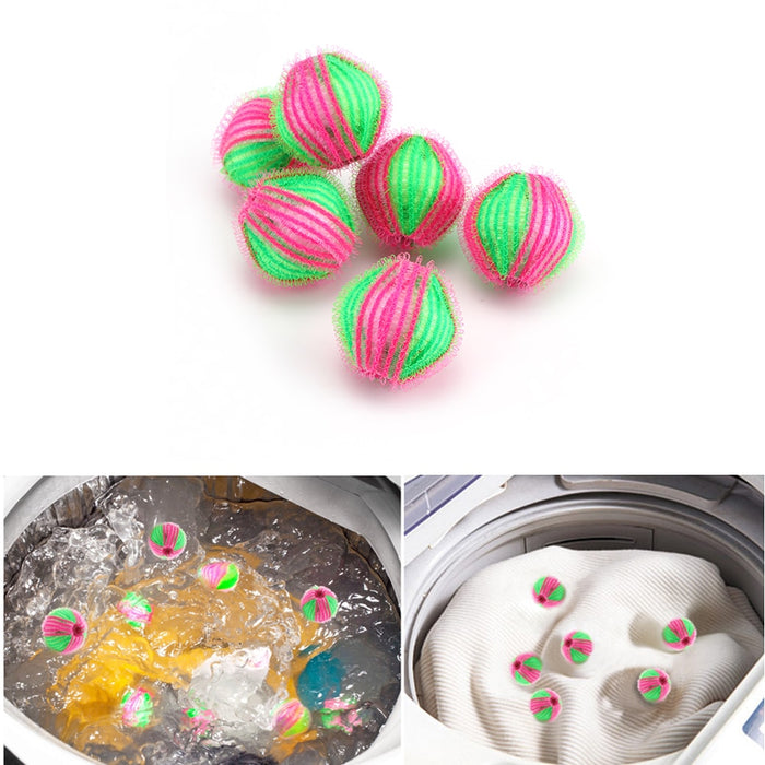 Hair Grabbing Laundry Washing Ball (6pcs)