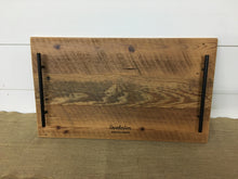 Load image into Gallery viewer, Reclaimed Serving Tray w/ Black Hardware
