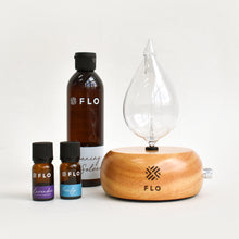 Load image into Gallery viewer, FLO Diffuser Home Raindrop Starter Bundle - FLO Aroma