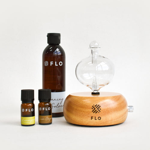 FLO Diffuser Home Sphere Starter Bundle - FLO Aroma