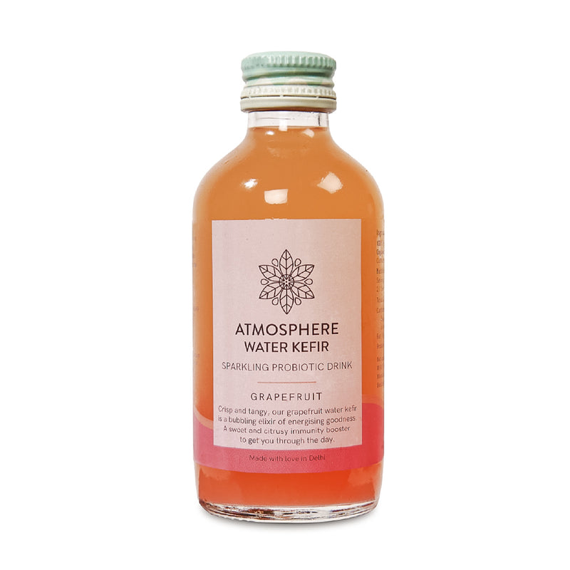 Sparkling Grapefruit Water Kefir