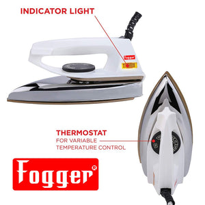 Fogger Max 750-Watt Dry Iron (White)