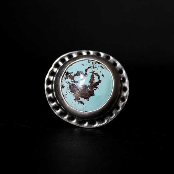 size 8 - royston turquoise sterling silver ring