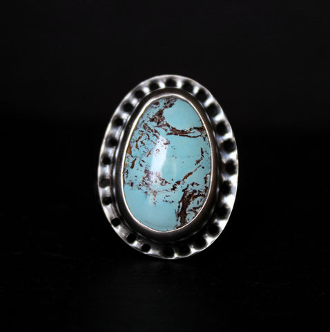 size 7 - royston turquoise sterling silver ring