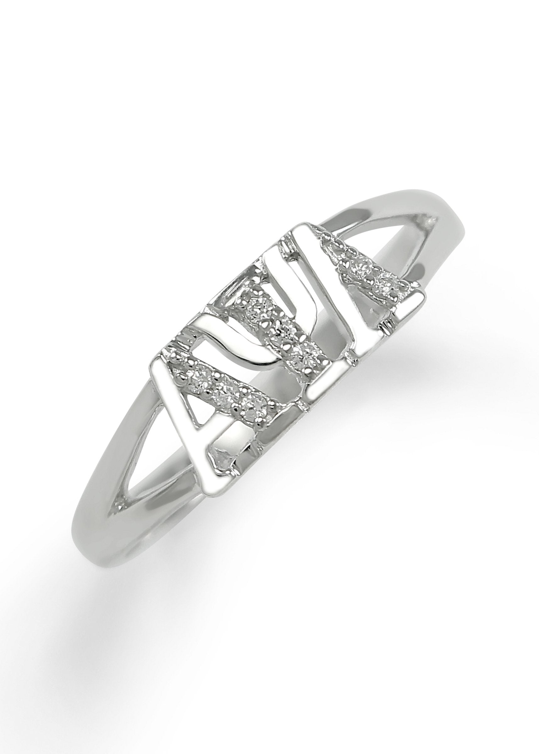 in sterling product gallery jewelry rings ring metallic solitaire orsini lyst silver adriana simulated