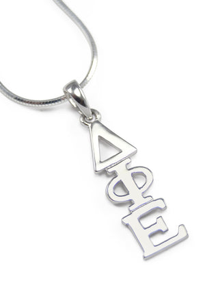 Accessories - Delta Phi Epsilon Sterling Silver Lavaliere