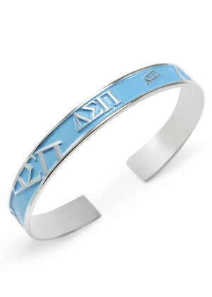 Accessories - Delta Sigma Pi Bangle Cuff Bracelet (Multi Colors Available)