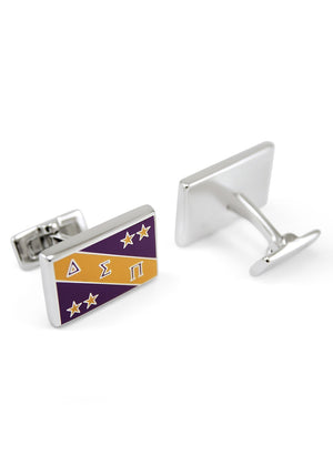 Accessories - Delta Sigma Pi Fraternity Flag Cuff Links
