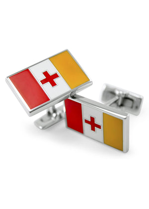 Accessories - Kappa Alpha Order Flag Cufflinks