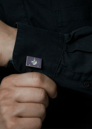 Accessories - Lambda Chi Alpha Flag Cufflinks
