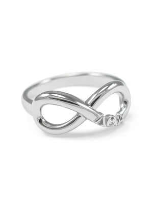 Accessories - Lambda Theta Alpha Sterling Silver Infinity Ring