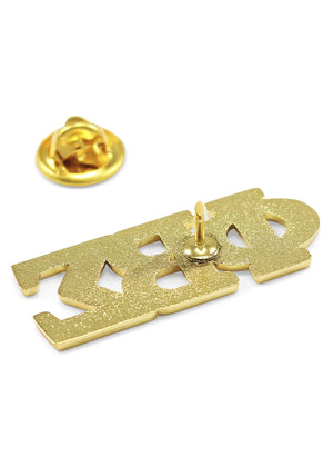 Accessories - Phi Beta Sigma 14k Gold Plated Lapel Pin