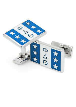 Accessories - Phi Delta Theta Flag Cufflinks