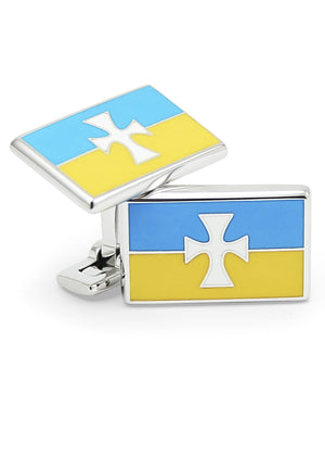 Accessories - Sigma Chi Flag Cufflinks