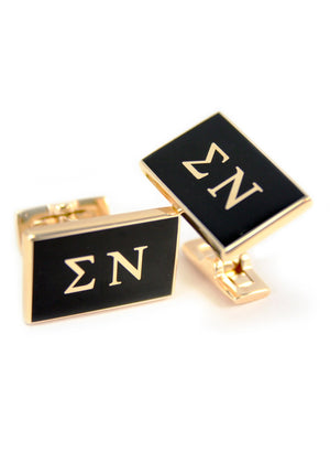 Accessories - Sigma Nu Gold Plated Cuff Links
