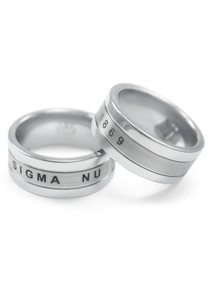 Accessories - Sigma Nu Tungsten Ring