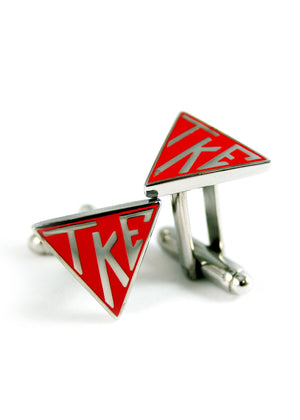 Accessories - Tau Kappa Epsilon Triangle Cufflinks